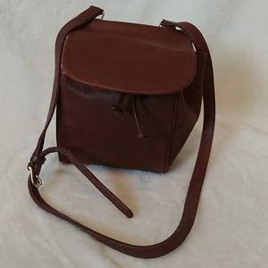 Vintage Small Brown Coach Drawstring Bag